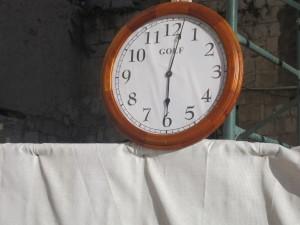 Time is relative in Jerusalem